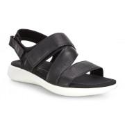 Sandale casual ECCO Soft 5 (Negre)