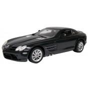 2005 Mercedes-Benz SLR McLaren [Motormax 73004B], Negro, 1:12 Die Cast