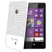 Skin Celly Clove Hidden Message Nokia Lumia 520 White