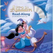 Aladdin Read-Along Storybook and CD by Disney Book Group