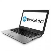 """HP EliteBook 820 G2, i5-5200U, 12.5"""" HD, 4GB, 500GB + 32GB FC, ac, BT, NFC, FpR, 3C LL batt, W8.1Pro-W7Pro"""