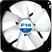 "FAN FOR CASE ARCTIC. ""F14"" 140x140x25 mm, low noise FD bearing (AFACO-14000-GBA01)"