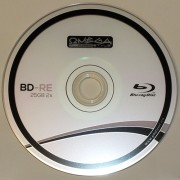 BluRay Disc BD-RE Rewritable Omega 2x 25GB Blank
