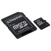 Kingston 8GB Class 4 MicroSDHC Card Flash Memory with SD Adapter SDC4/8GB