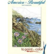 America the Beautiful to Paint or Color by Dot Barlowe