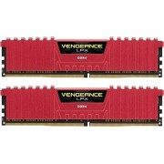 Corsair CMK16GX4M2B3466C16R Vengeance LPX 16GB (2x8GB) DDR4 3466Mhz Mémoire Pour Ordinateur De Bureau Haute Performance Avec Profil XMP 2.0. Rouge