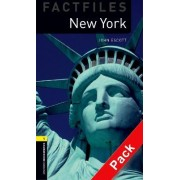 Oxford Bookworms Library Factfiles: Level 1:: New York audio CD pack by John Escott