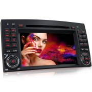 "XOMAX ""MERCEDES MB-03EU 18cm/7"""" Navi Autoradio mit Bluetooth, DVD, USB und SD (B-Ware)"""