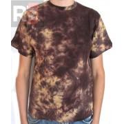 Koszulka barwiona brązowa Running Bear