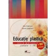 Educatie plastica - ghid metodic I-IV + 80 planse