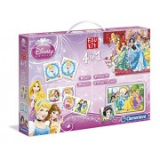 Clementoni 13775 - Edukit 4 in 1 Princess