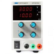 skytop Power Laboratorio 4 Esfera LED Pantalla Edi-tronic DC fuente de alimentación 0 - 30 V 0 - 10 A 300 W regulable Fuente