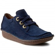 Обувки CLARKS - Funny Dream 261237514 Navy