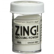 Zing! Opaque Embossing Powder 1-Ounce White