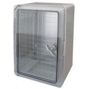 500x350x190mm PB-A átlátszó ajtós műanyag szekrény (PB-5035A)