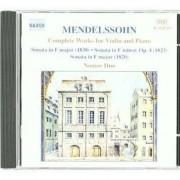 F. Mendelssohn-Bartholdy - Complete Works For Violin (0636943472521) (1 CD)