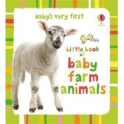 Baby's Very First Little Book of Baby Farm Animals by Kate Rimmer