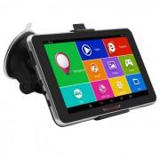 """TiaiwaiT 7"""" HD MT8127 Quad-core Android 4.4 Car GPS Navigator w/ BT / Wi-Fi / FM - Black (RU-Map)"""