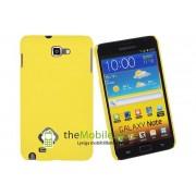 OEM Baksideskal till Samsung Galaxy Note i9220 (Gul)