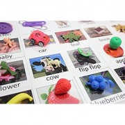 Montessori Object Match with Cards- Miniature Objects with Matching Cards - 2 Part Cards. Montessori learning toy language materials