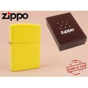 Zippo - öngyújtó matt citromsárga