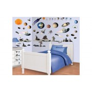 Walltastic Kit de 69 stickere de decor pentru camera copilului. wlt_41127