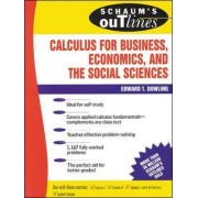 Schaum's Outline of Calculus for Business, Economics, and the Social Sciences by Edward T. Dowling