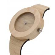 Analog Watch Silverheart & Maple / No Hour Markings Watch S