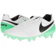 Nike Tiempo Legacy II FG WhiteBlackElectro Green