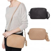 Simple Fashion Mini PU Leather Women Messenger Bag Stripe Handbag Women's Crossbody Bag Female Ladies Clutch Bags Solid Color