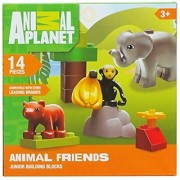 Animal Planet Jungle Animal Friends 14 pieces Lego Junior Building Blocks