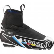 Salomon RC Carbon Gr. 10 - schwarz weiß / schwarz/weiß - Klassische Langlaufschuhe