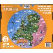 Puzzel Reis, ontdek, leer Nederland   Lantaarn