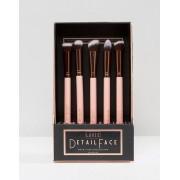 Luxie Rose Gold Detail Face Set - Face brush set (Sizes: )