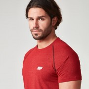 Myprotein Men's Performance Raglan Sleeve T-Shirt - Red - XXL