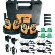 DeTeWe PMR készlet kofferben 4 részes Outdoor 8000 Quad Case 208048 PMR 8000 Quad Case, DeTeWe (9305
