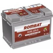Rombat AGM VRLA baterie auto 12V - 80 Ah 800A L4 Start Stop
