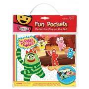 Colorforms Fun Pockets Yo Gabba Gabba Fun Pocket