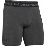 Under Armour Men's Armour HeatGear Compression Training Shorts - Carbon Heather/Black - XL