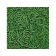 Elastice Rainbow Loom - Standard Verde inchis 600 buc