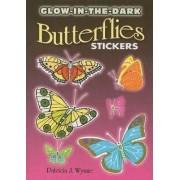 Glow-In-The-Dark Butterflies Stickers by Patricia J. Wynne