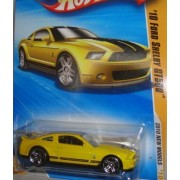 HOT WHEELS YELLOW 2010 NEW MODEL SERIES '10 FORD SHELBY GT-500 DIE-CAST by Mattel