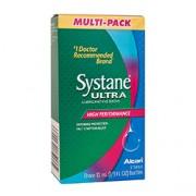 SYSTANE ULTRA LUBRICATING EYE DROPS Three 10ml Bottles