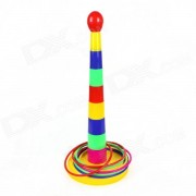 Enfriar plastico Lanzar Circle Game - Red + Blue + Green + Yellow