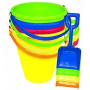 Amscan Fun Filled Summer Pail and Shovel Party Activity (Pack of 1) Multicolor 9 /Large