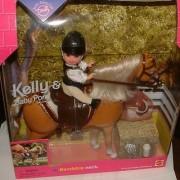 Barbie Kelly Doll & Walking Pony Playset (Gift Set)
