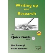 Writing Up Your Research by Professor Dan Remenyi