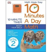 10 Minutes a Day: Math, Second Grade by DK Publishing