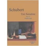 Trei Sonatine Op.137 Vioara Si Pian - Schubert