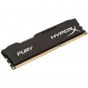 DDR3, 4GB, 1600MHz, KINGSTON HyperX Fury Black, CL10 (HX316C10FB/4)